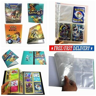 Pokemon Cards Album Book List Collectors Folder 240Pcs Capacity Card Holder Gift