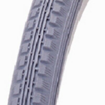 "Brand new 24"" inch x 1 3/8 Wheelchair Tyre Grey"