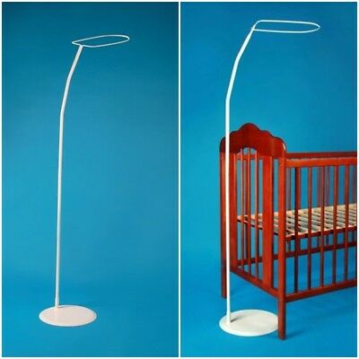 FREE STANDING HOLDER FRAME FOR CANOPY DRAPE MOSQUITO NET rod bar clamp pole COT