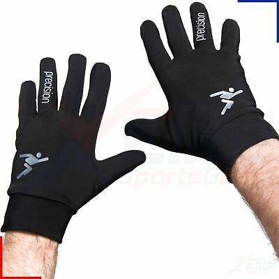 Precision Boys Juniors Football Players Winter Warm Gloves Brushed Inner