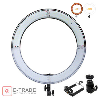 55W - LEDs 240 - SELFIE-SET MAKE-UP Ring lamp Studio light Ringlight