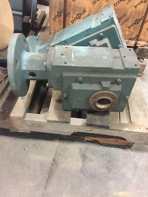DODGE WORM GEAR REDUCER C262TO15 15:1 Ratio 5.40HP 1750 Input RPM