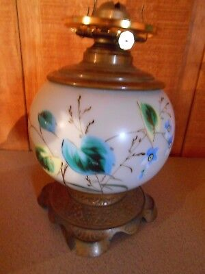 Vintage P&A Eagle Oil Kerosene Lamp Gone With the Wind