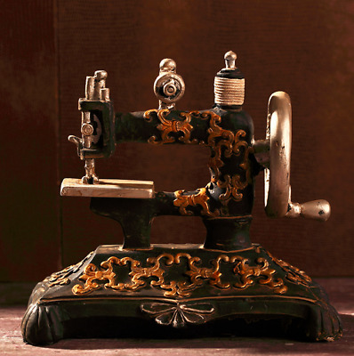 Sewing Machine Vintage Singer Case Retro Classic Resin Featherweight Model-New