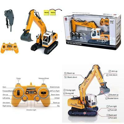 Full Functional Rc Excavator Double E 17 Channel Shovel Remote Control Tractor