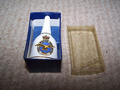 Crested China Bell from Fenton China Co.Boxed
