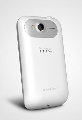 GENUINE HTC Wildfire S BATTERY COVER Door WHITE phone back OEM A510E 6230 G13
