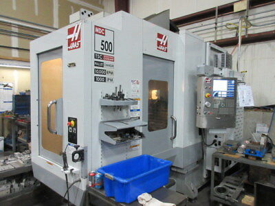 Haas MDC-500 CNC Machining Center w/ Auto Pallet Changer, Coolant Thru Spindle