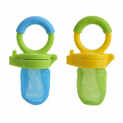 Munchkin  Fresh Food Feeder a Pack of 2 (Colors May Vary)
