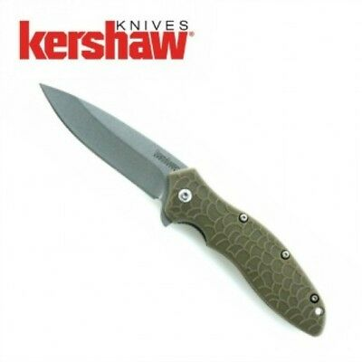 KERSHAW - OSO SWEET Olive Green Spring Assisted SPEEDSAFE opening Knife 1830ODSW