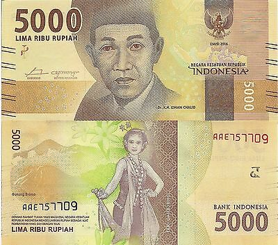INDONESIA 1000 Rupiah Banknote World Paper Money UNC Currency Pick p141c Bill