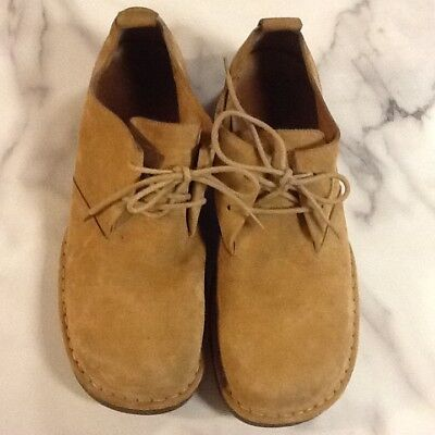 Cole Haan Country Mens Rugged Suede Oxford C00141 Sand Light Brown Size 11 M