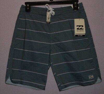Billabong 73 OG Stripe Navy Boardshorts Boys Youth Swim Trunks Coastal 8 - 20