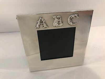 Tiffany & Co. 5x5 ABC Sterling Silver frame
