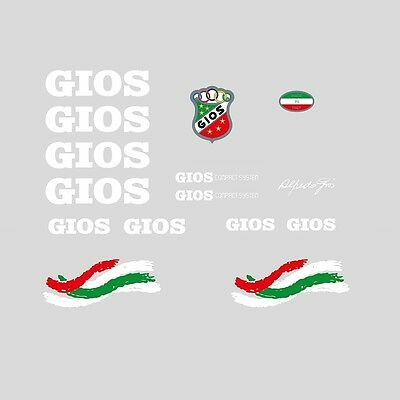 """Decals Gios /""""Compact H.T./"""" Kelme Team Bicycle Stickers Transfers  n.55"""