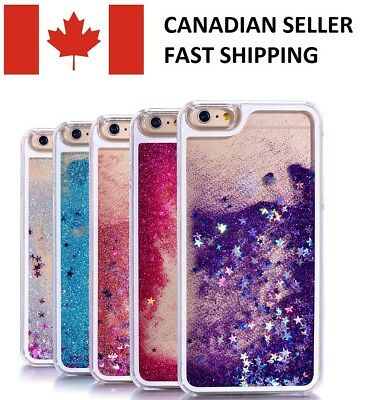 Dynamic Liquid Quicksand Sparkly Case Cover for iPhone X 8 7 6s 6 Plus 5s 5 SE