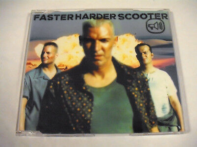 SCOOTER  Faster Harder Scooter  Maxi CD
