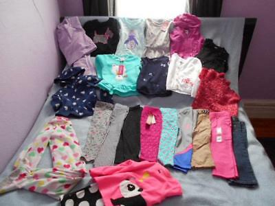 23 Pc Mixed Lot Girls Size 3-3T Used Winter Clothing