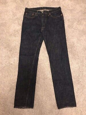 R by 45RPM Indigo Dyed Denim Selvedge Jeans Made in Japan Size 33