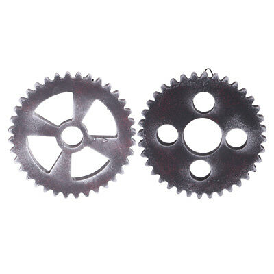 2PCS Retro Wall Hanging Decorative Wooden Gear Home Collectible 12cm Type2