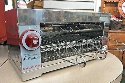 Berto's Fast Toast Commercial Toaster Oven mod. 6T