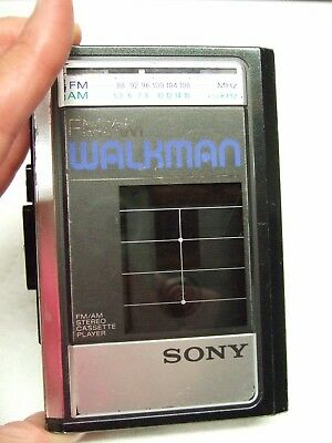 Sony Walkman Wm-F31/41 Stereo Cassette Player Parts Only