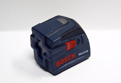 Bosch GLL2-10 Cross-Line Laser Level Self-Leveling System with Indicator Used