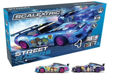 Scalextric Street Racers Slot Car Set C1376 Brand New