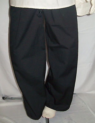 New Handmade Renaissance Boy's Drawstring Pants Size 2 Toddler Various Colors