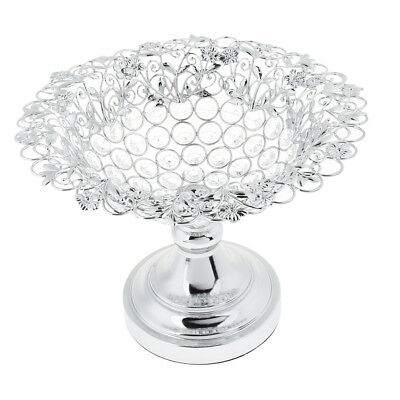 Crystal Sphere Wedding Banquet Centerpiece Fruit Tray Serving Tray Platter