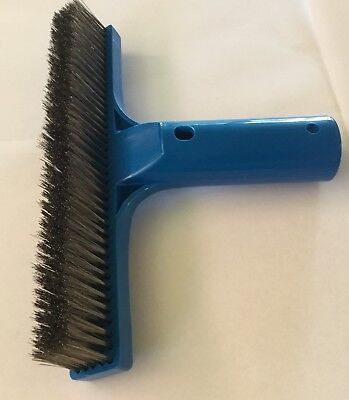"""Pool Cleaning Brush 10"""" stainless steel bristle for a better clean long lasting"""