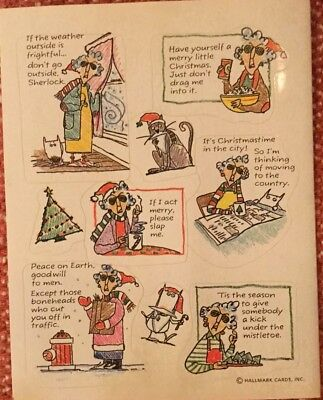 Hallmark Maxine Stickers ~ Shoebox greetings ~ Hilarious!