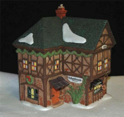 Dept 56 Dickens Village ~ T. Puddlewick Spectacle Shop ~ Mint In Box 58331