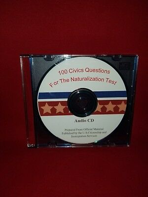 100 Civics Questions and Answers for the U.S. Naturalization Test - Audio CD