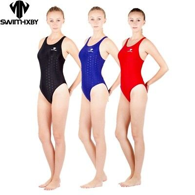 Women Girls One Piece Competition Training Swimsuit Racing Swimwear Bathing Suit
