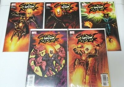 Ghost Rider 2006 Comic Book (LOT OF 5) # 1-5 Marvel Comics