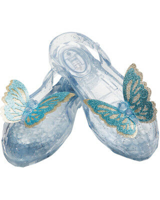 Girls Cinderella Movie Light Up Shoes Costume Accessory