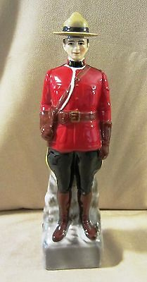 Canadian Mountie Decanter from Canadian Mist Whiskey in 1969