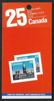 Canada - Booklet Pane of 25 in Cover - Houses of Parliament #1165b (BK103) - MNH