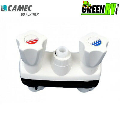Camec Breha Hot Cold Plastic Caravan RV Shower Mixer Mod 330