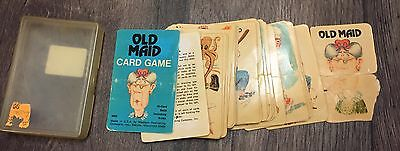 1975 Vintage Old Maid Playing Cards Whitman Western Publishing Co. Complete Set