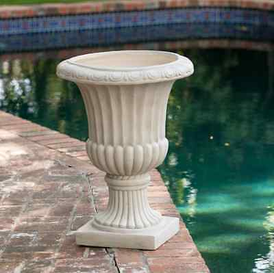 Garden Pots And Planters Flower Large Stone Vegetable Urn Outdoor Roman Antique