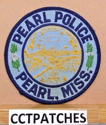Pearl, Mississippi Police Shoulder Patch Ms