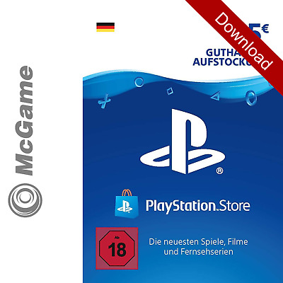 PlayStation Network Code Card DE 25 € Euro | Prepaid Guthaben Key PSN PS4 DE 20