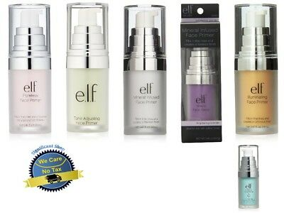 Elf Face Primer E L F Mineral Infused Clear Hydrating Poreless Illuminating Tone