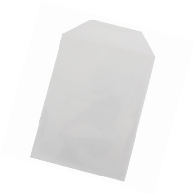 200 Clear CPP Plastic DVD Sleeves with Flap for 14mm DVD Box Awork & Disc 80 Mic