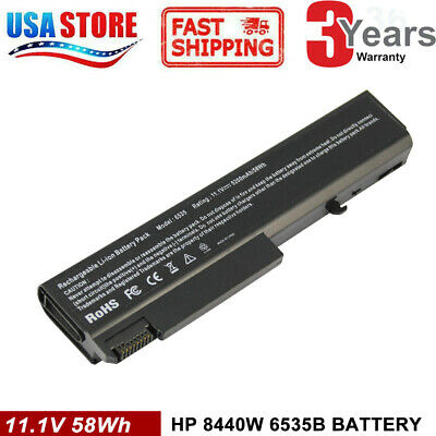 Battery for HP TD06 EliteBook 8440P 6930P 6530B 6730B ProBook 6455B