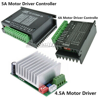 NEW TB6600 4A 4.5A 5A CNC Single-axis Stepper Motor Driver Board Controller
