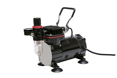 Royal Max Tc-802 Single Piston On-Demand Airbrush Compressor