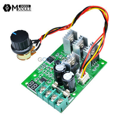 30A DC 6-60V PWM Motor Speed Controller Module Dimmer Current Regulator+Display